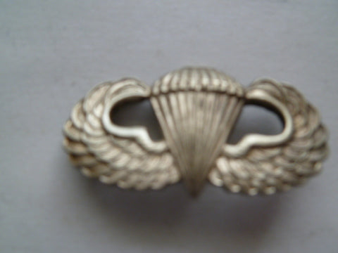 usa ww2 ARMY PARATROOPER badge m/m ludlow uk