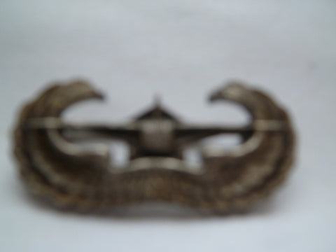 usa ww2 ARMY glider pilot badge firman usa made m/stg sil