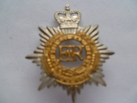 NZ rnzasc cap badge Q/C bi-metal