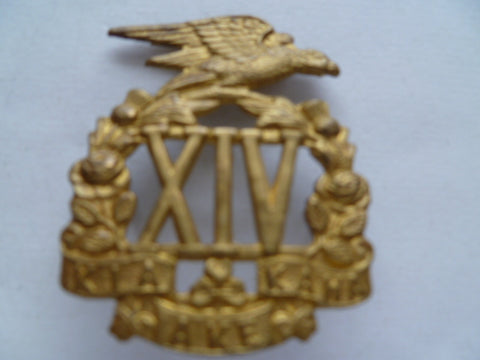 NZ 14th south otago regt cap badge