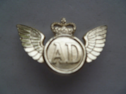 brit army air dispatch anodised badge quite scarce