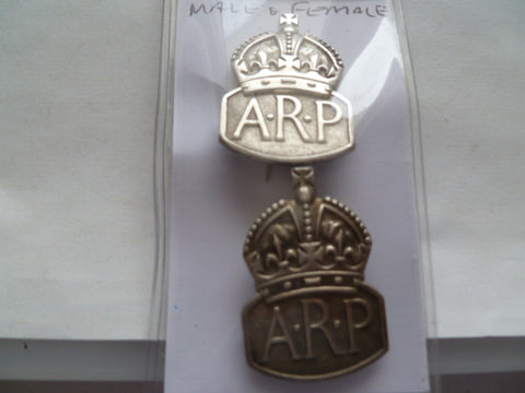 ARP  sterling silver variety male and female types