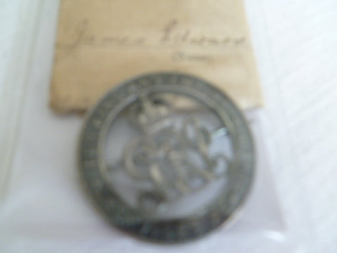 great britain wound badge with rare slip 113272