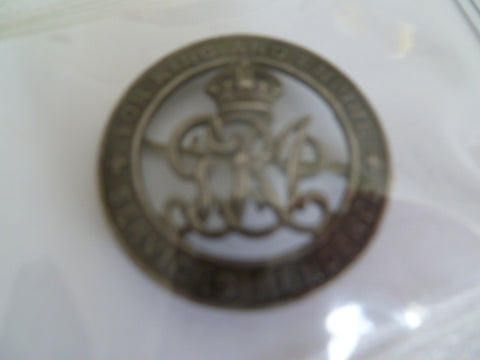 1914/18 wound badge south africa SA 10895
