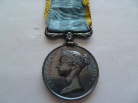 brit/french CRIMEA medal unamed full size nice tone