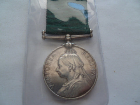 brit volunteer long service medal unnamed as issued