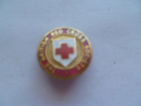 brit red cross badge red type 20mm m/m