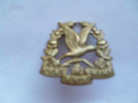new zealand 14th sth otago rifles army badge collar right m/m