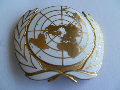UN badge for cap/beret etc tks maker