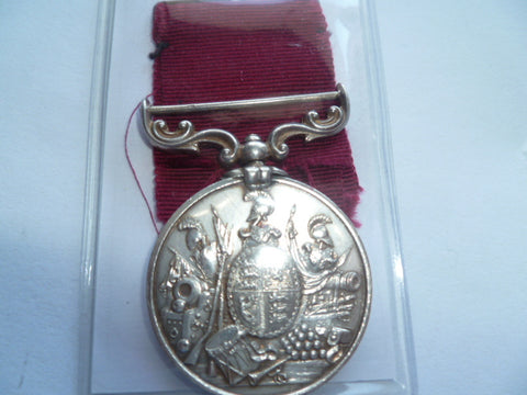 brit LSGC vict medal n/t 1271 pte p laughlin 77th foot e x cond