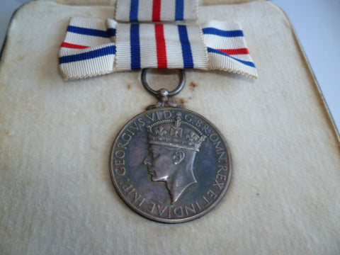 brit kings medal for the cause of freedom cased