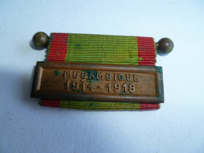 france bar for ww1 medal mozambique 1914-18