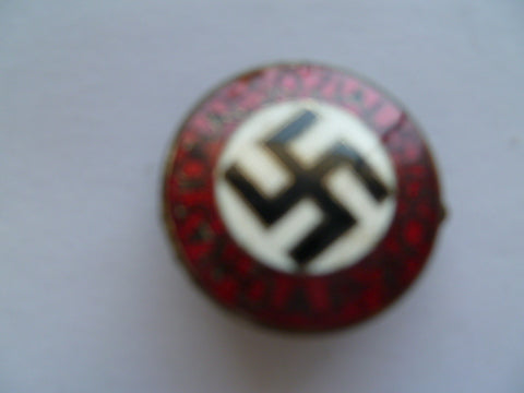german ww2 party badge smaller type rzm m1/90