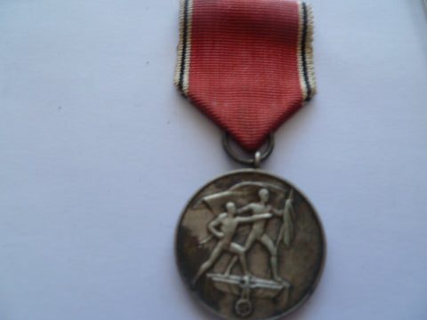 german ww2 anschluss medal f/s 13th march austria