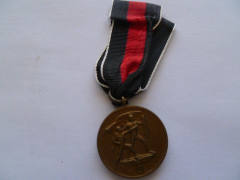 german ww2 medal for anschluss 1st october