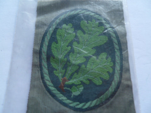 german ww2 jaeger arm bevo weave patch ex cond