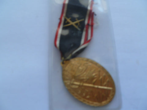 germany ww1 kyffhaufer bund veterans medal 14-18 war with swords