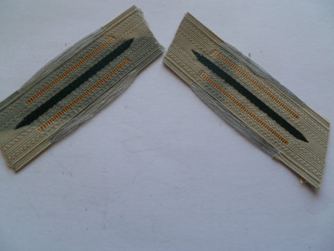 german ww2 bevo weave tabs construction batt