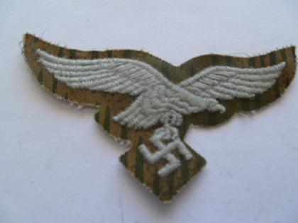 german ww2 emb eagle for luftwaffe camo uniform very rare