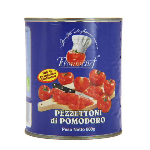 ProntoChef Diced Tomatoes 28 oz. can.