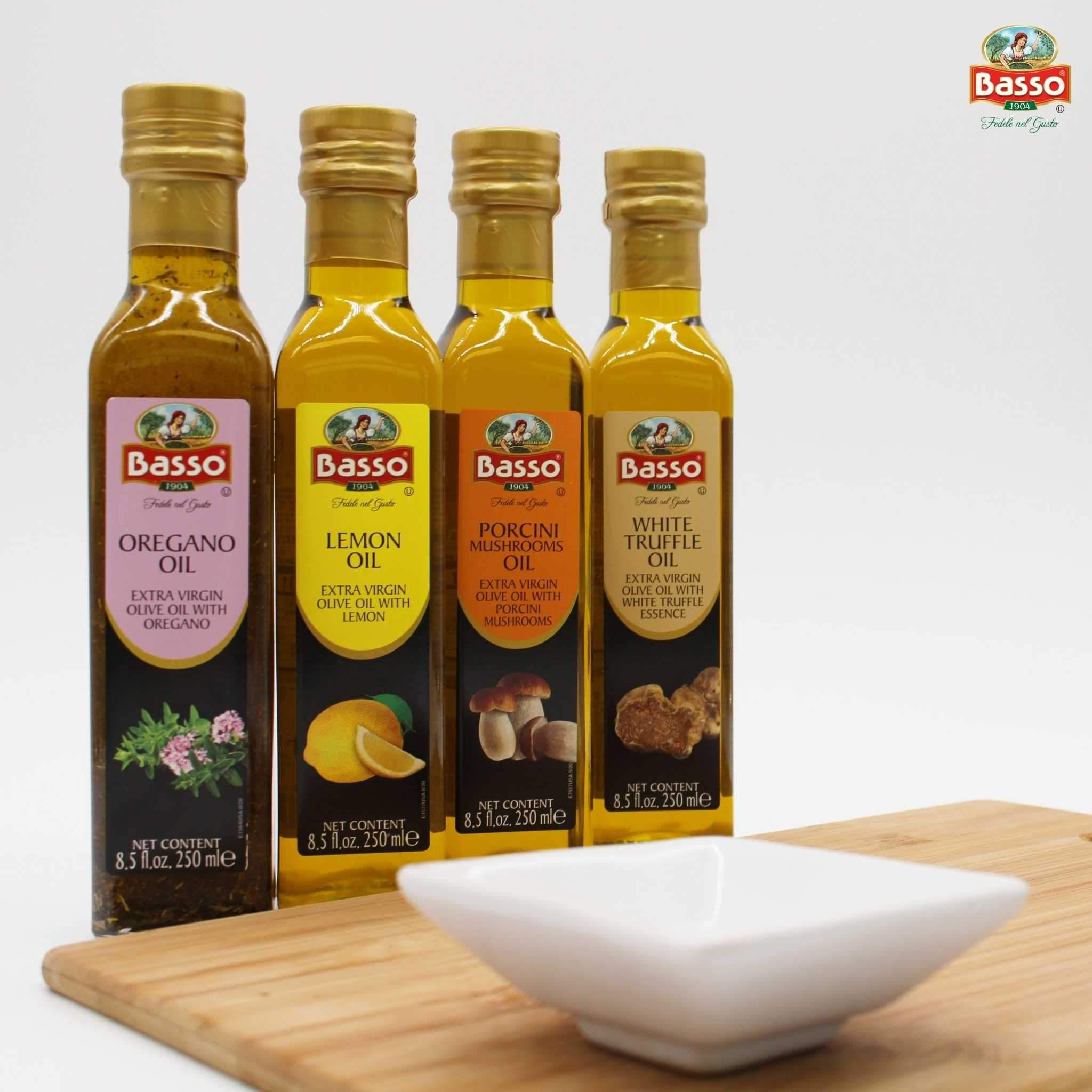 Basso Extra Virgin Olive Oil 4 Pack 8.5 fl oz