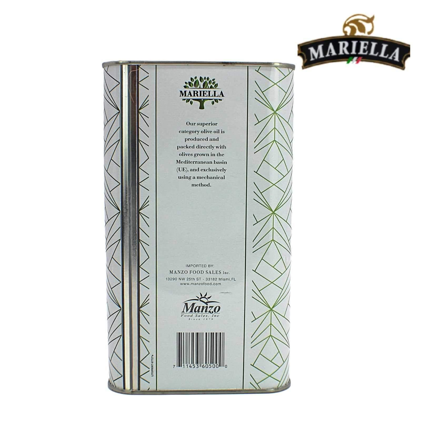Mariella Extra Virgin Olive Oil - 3L
