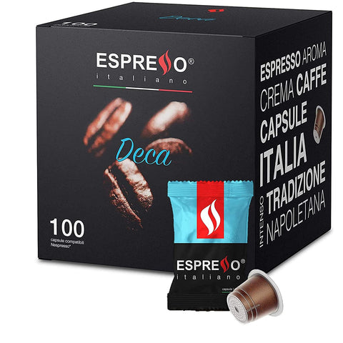 Espresso Italiano (DECAF) - Nespresso Compatible Capsules - Wholesale Italian Food