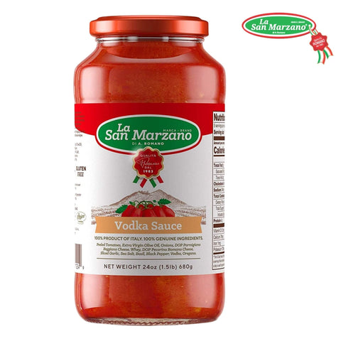 La San Marzano Vodka Tomato Sauce 24 oz. - Wholesale Italian Food