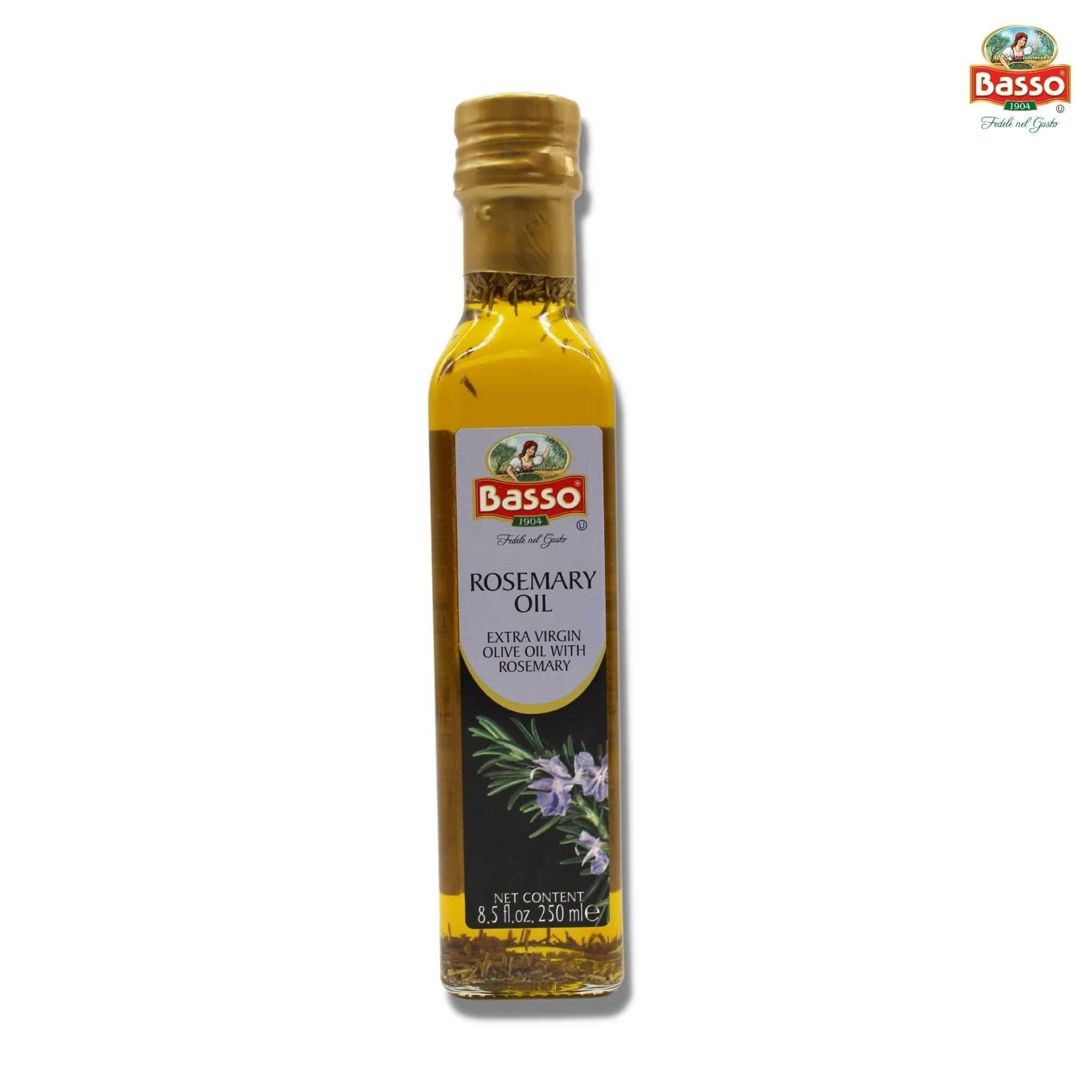 Basso Extra Virgin Olive Oil Rosemary 8.5 fl oz