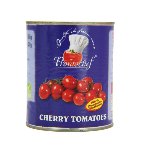 ProntoChef Cherry Tomatoes 28 oz. can.