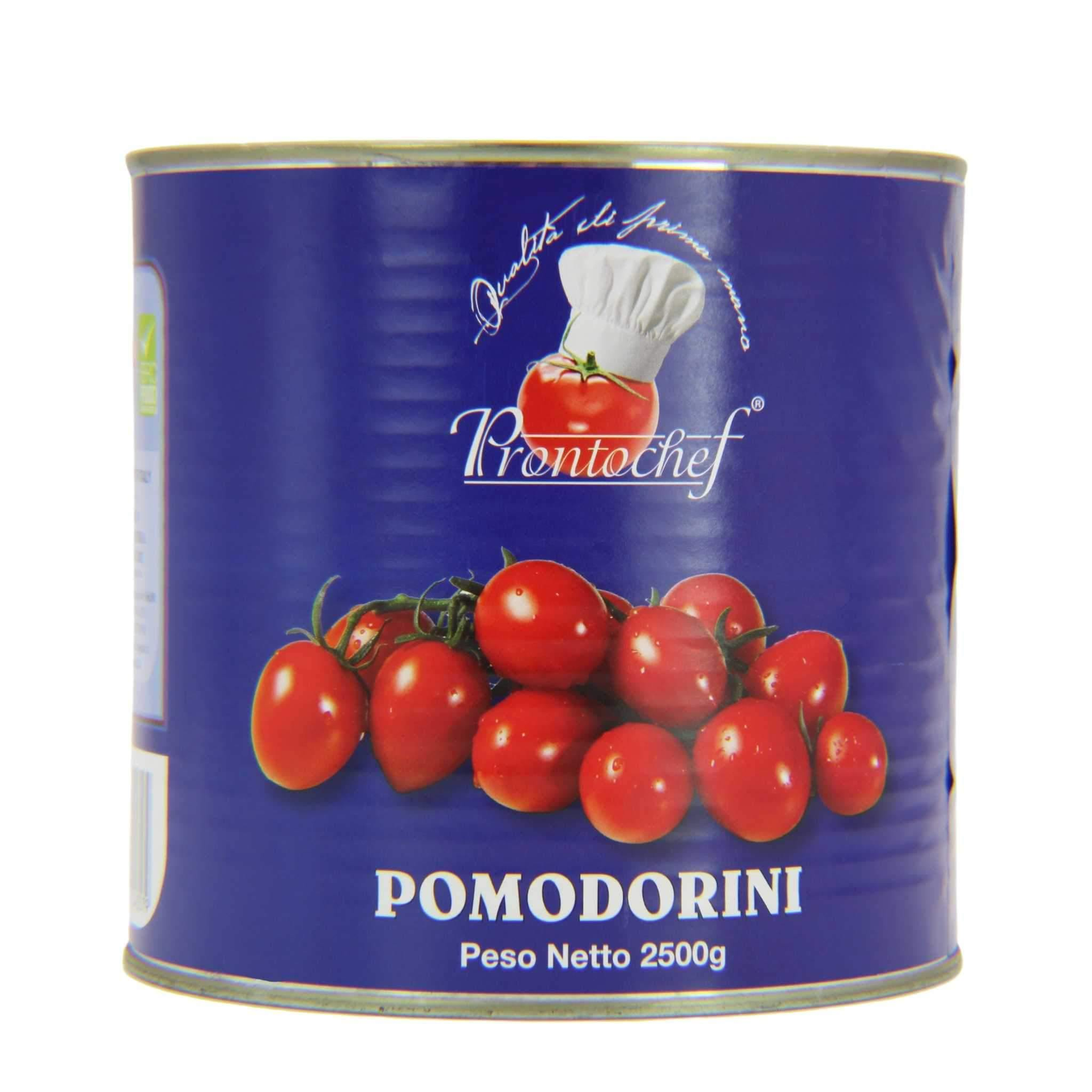 ProntoChef Large Cherry/ Pomodorini #10 Can (6.6 lbs. | 3 kg) - Wholesale Italian Food