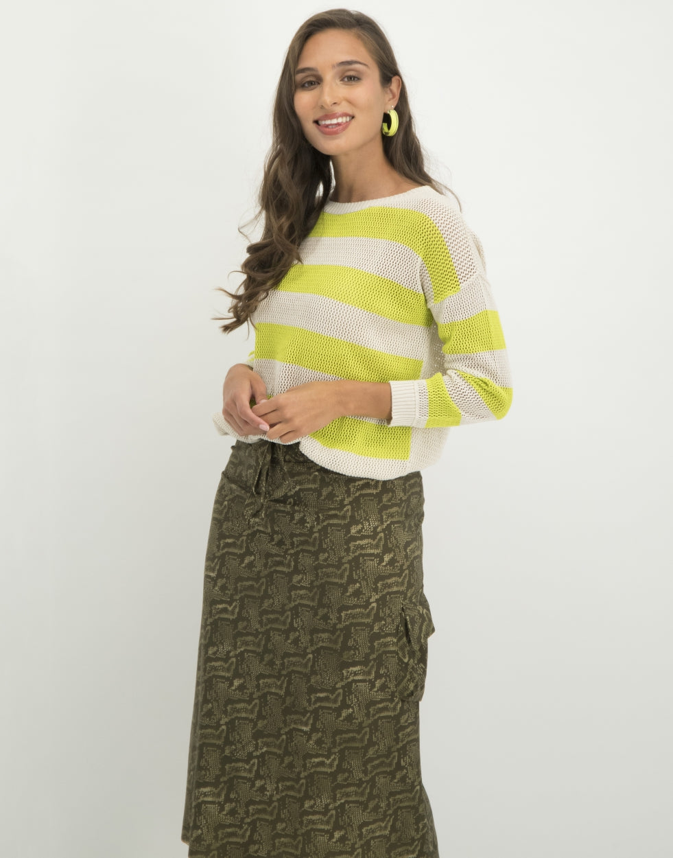 Norah Skirt Snake | Army