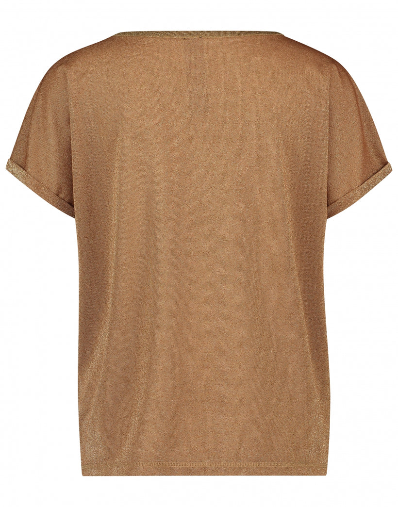 Hope T shirt | Cognac