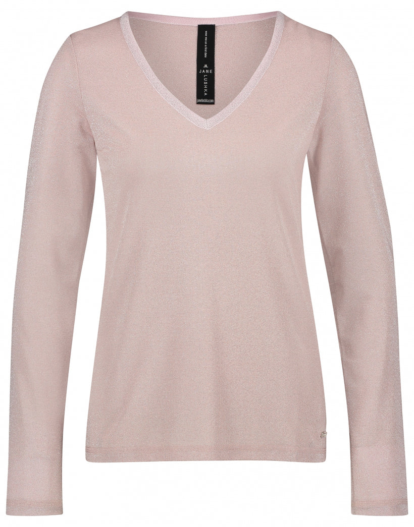Grace V-Neck | Rose