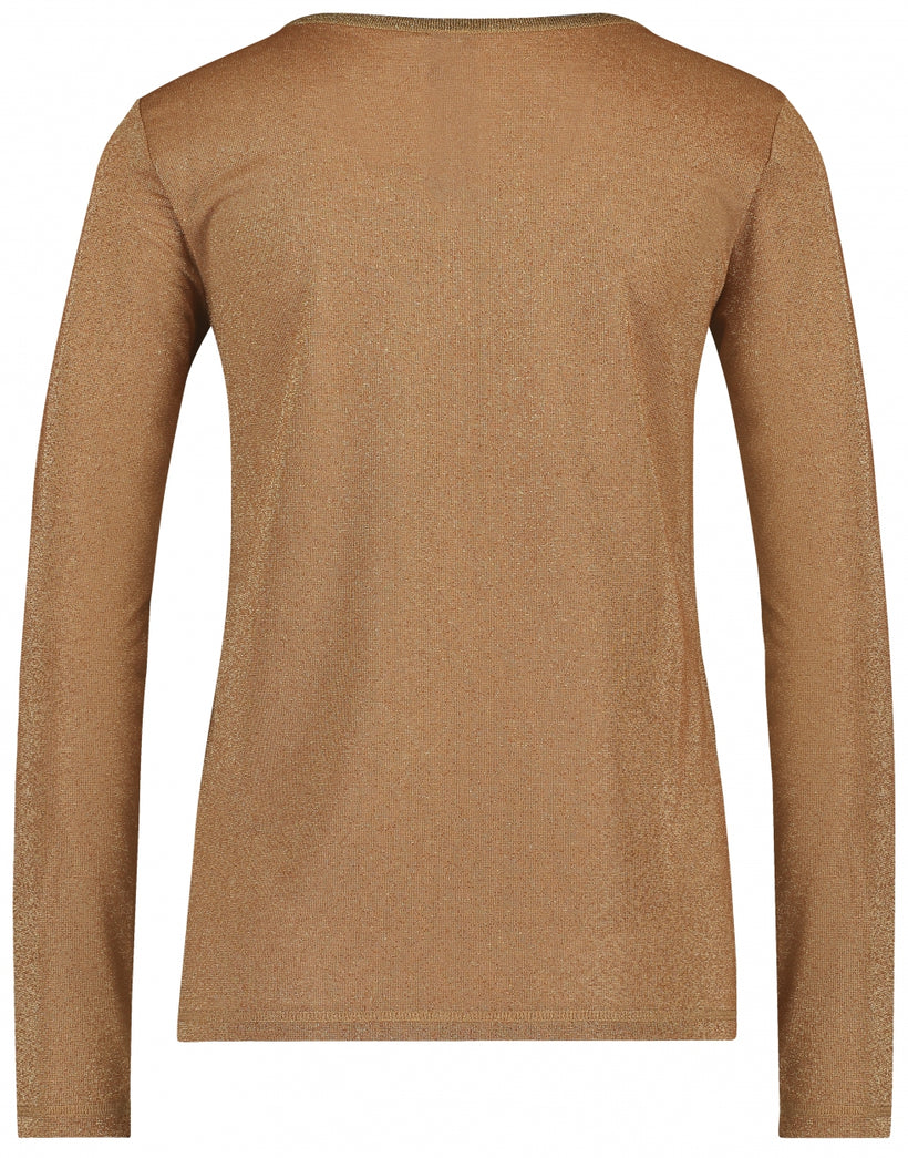 Grace V-Neck | Cognac