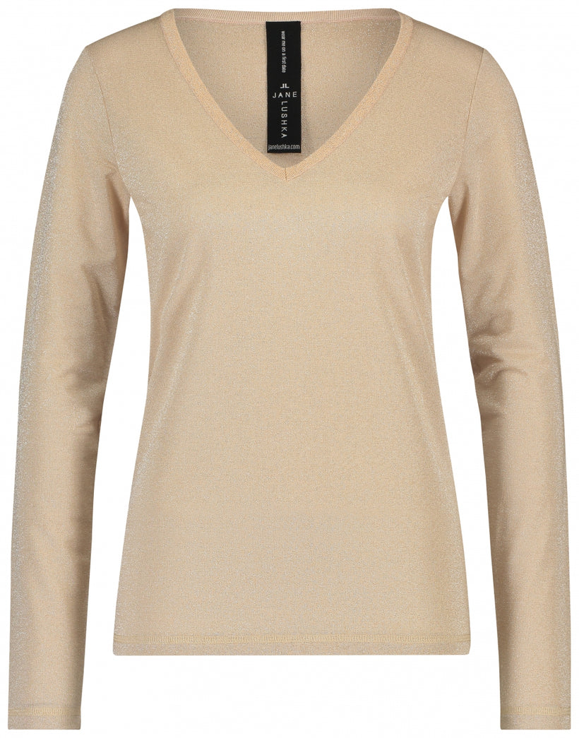 Grace V-Neck | Light beige