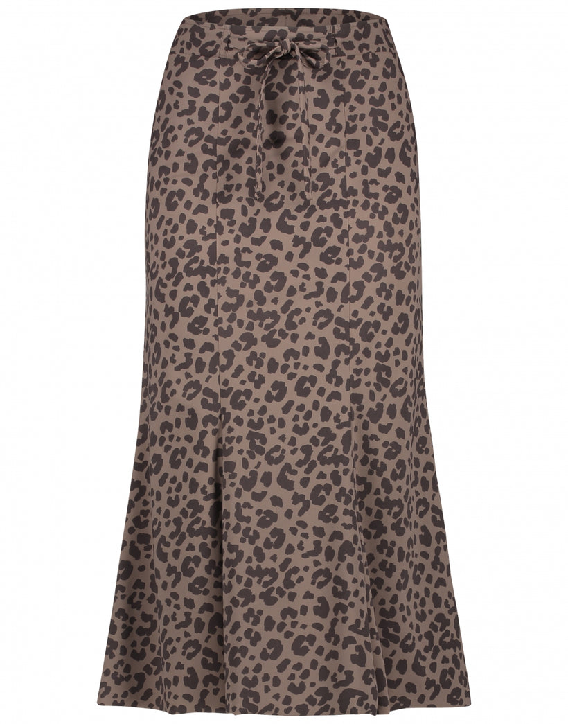 Skirt Nelly | Animal brown