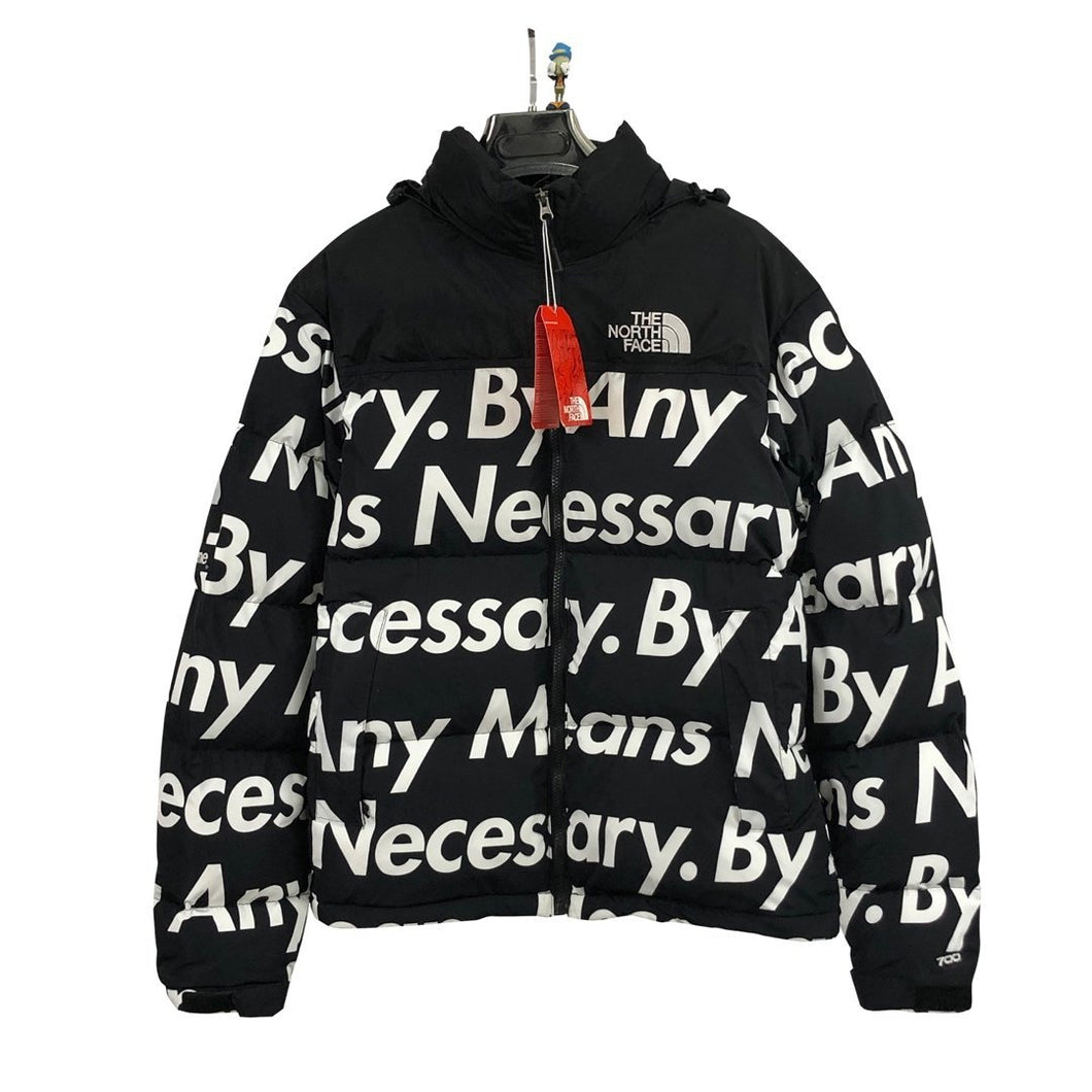 Supreme×The North Face By Any Means Nuptse 男女兼用  Jacket  ダウンジャケット black