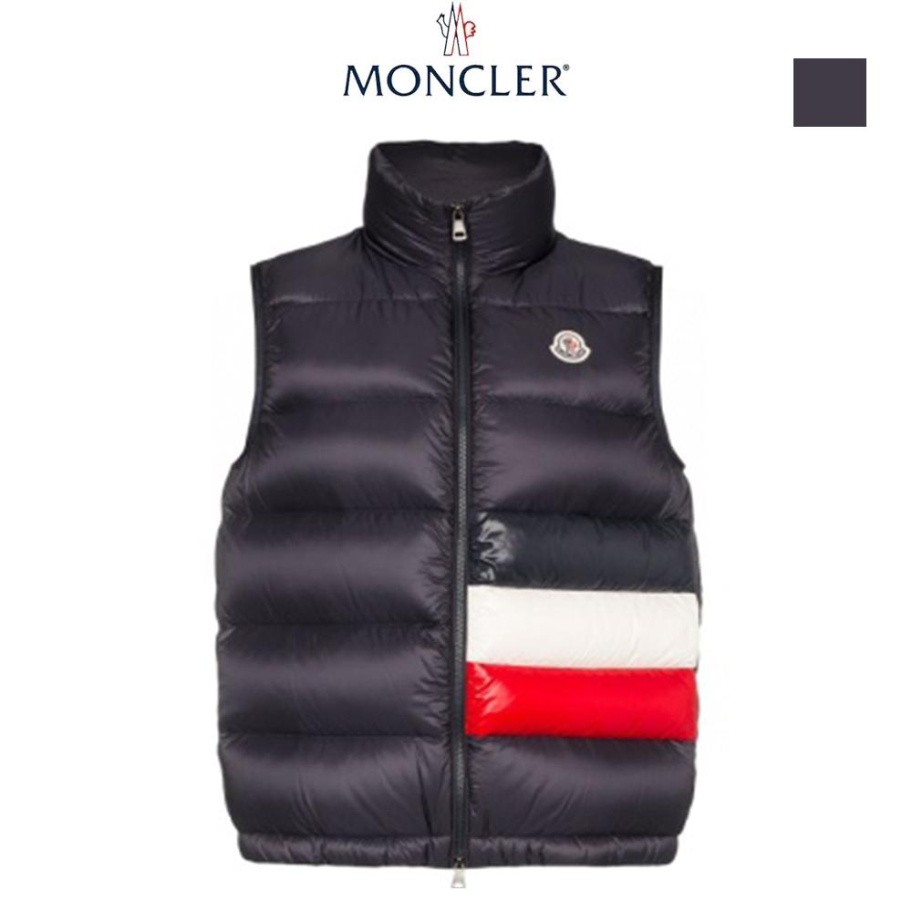 MONCLER SOVEX 2019-20AW モンクレール メンズ ダウンベスト navy
