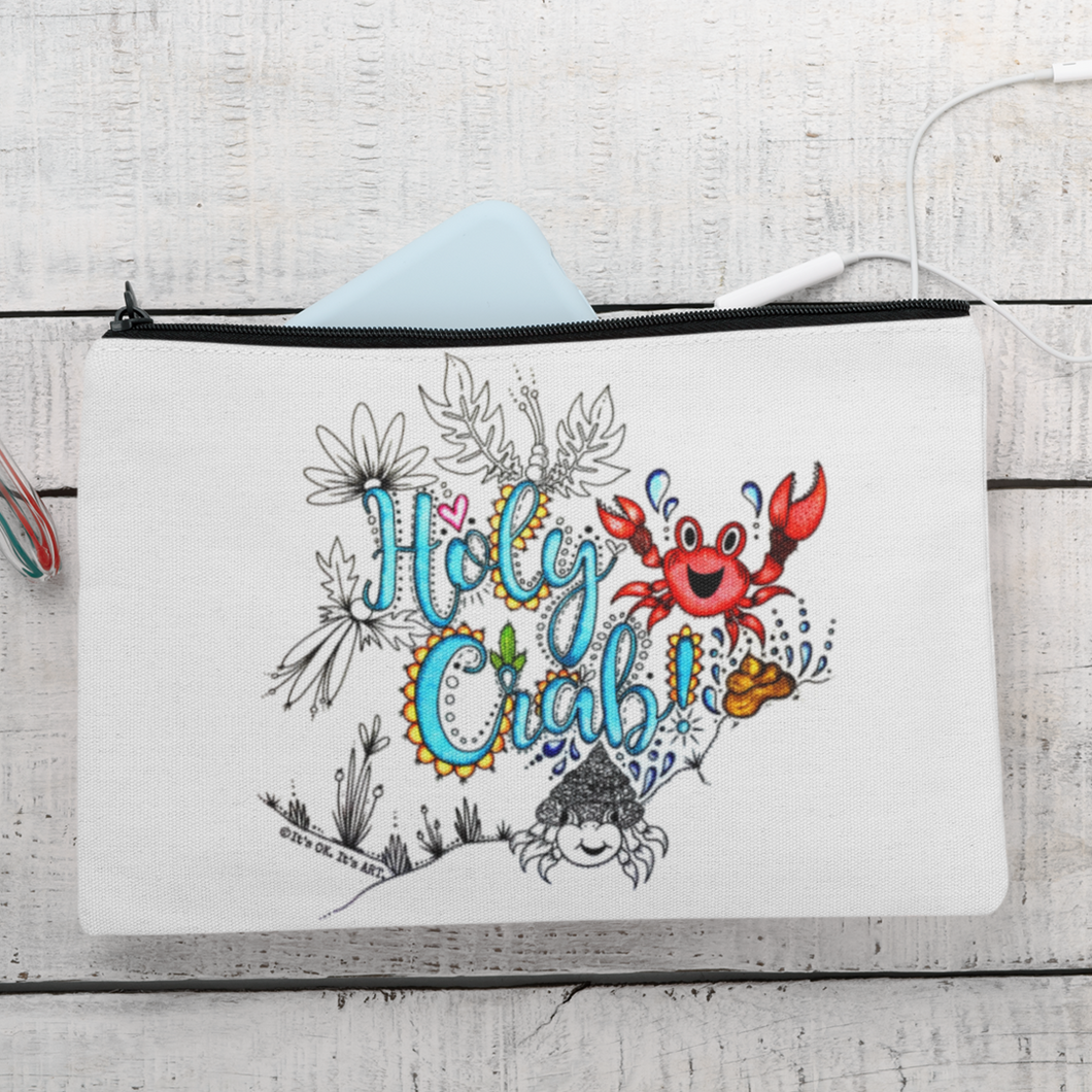 Colouring Pouch  - Holy Crab!