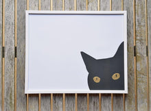 Load image into Gallery viewer, Cat Art - Black Cat