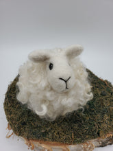 Load image into Gallery viewer, Needle Felted Sheep Puff