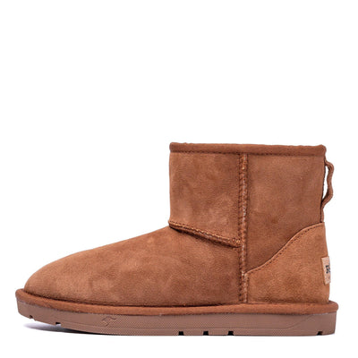 Mini Classic Sheepskin Boot Chestnut - Roozee Australia