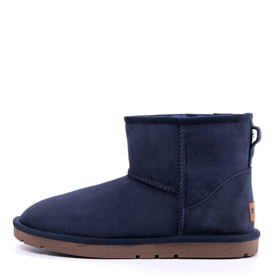 Mini Classic Sheepskin Boot Navy - Roozee Australia