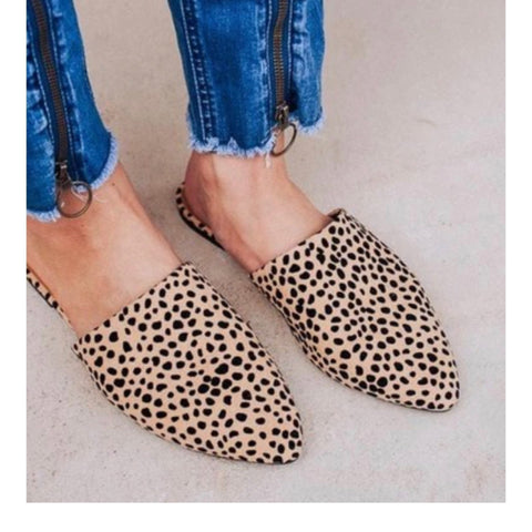 Wild About You Animal Print Mules