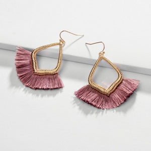 Tassel Hook Earrings
