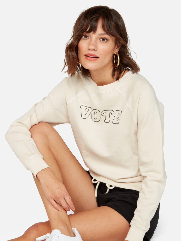 Organic Terry Graphic Sweatshirt