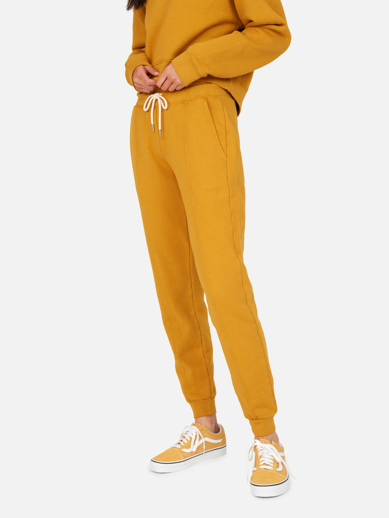Fleece Front Seam Jogger