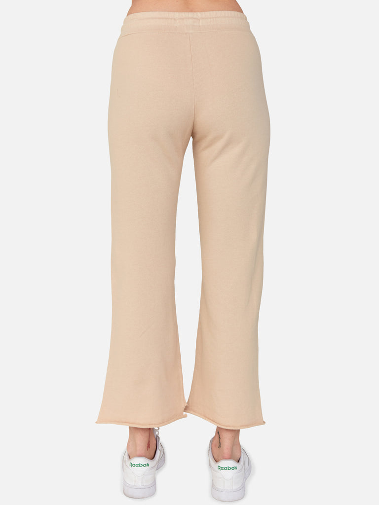 Edin Crop Sweatpant / Latte