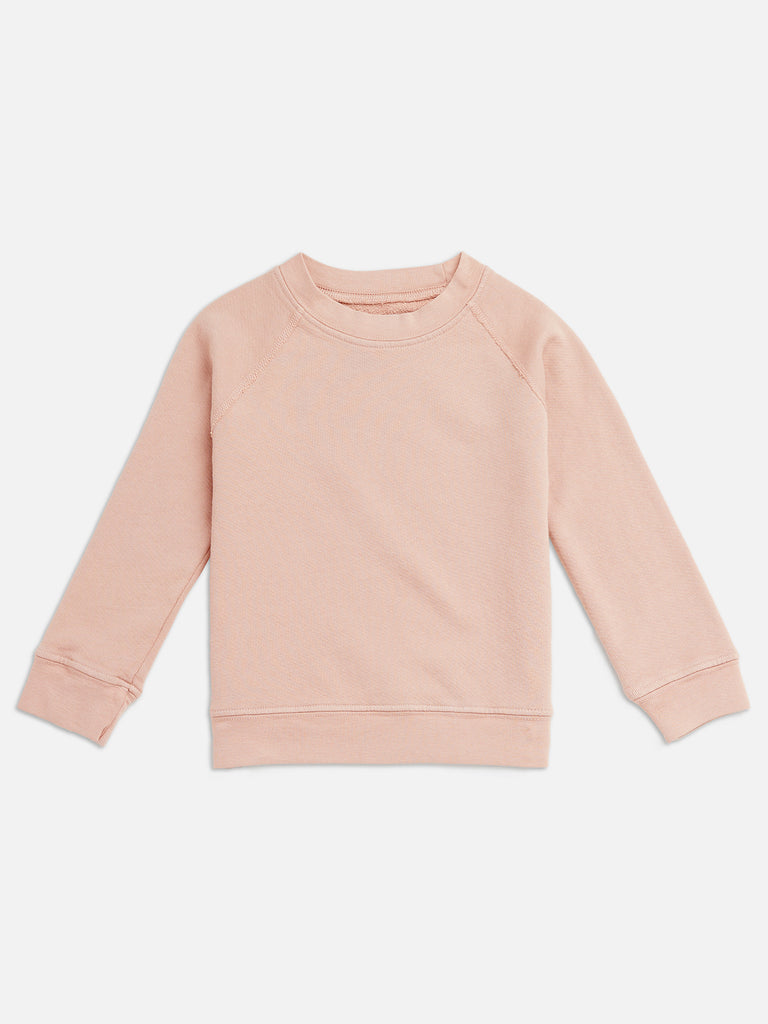 Mini Organic Terry Raglan Sweatshirt